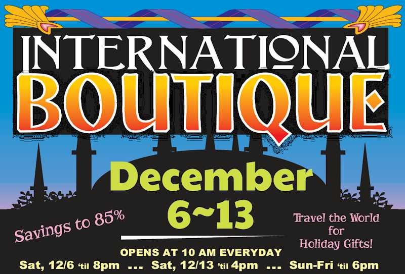 International Boutique 2013 Logo